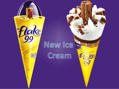 CADBURY FLAKE CONE 125 ml