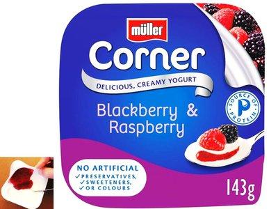 Müller Fruit Corner Mûres & Framboises 150g