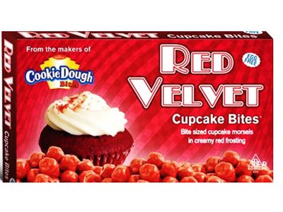 COOKIE DOUGH BITES - CUPCAKE RED VELVET