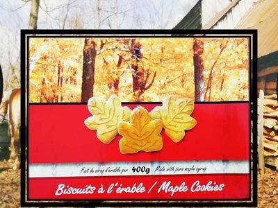 Biscuit Feuille d'érable - 400 g