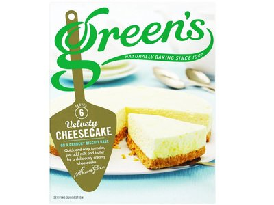 Green's cheesecake mix original 259 g