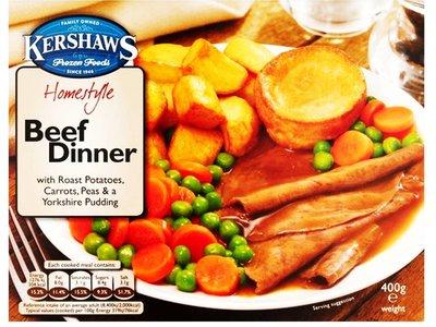 KERSHAWS BEEF DINNER 400 g