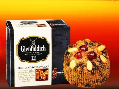 WALKERS FRUIT CAKE GLENFIDDICH 400 g