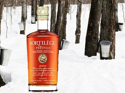 Liqueur de whisky 7 ans d'age - Sortilège  40,9 %  750 ml