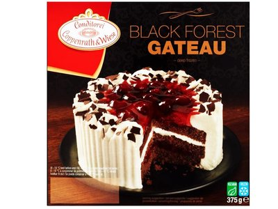 COPPENWRATH & WIESE BLACK FOREST GATEAU 375 g