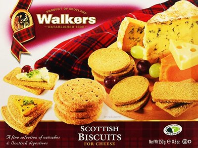 WALKERS SCOTTISH BISCUITS POUR FROMAGE 250 g