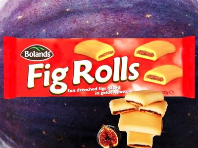 BOLANDS FIG ROLLS ( roulés figues) 200 g