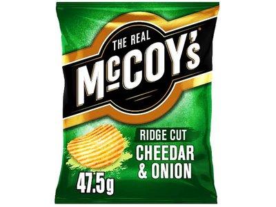 McCOYS CHEDDAR & ONION 47.5 g