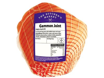 BUTCHERS MARKET GAMMON JOINT 1.6 kg