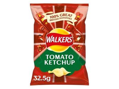 WALKERS CRISPS SMOKEY BACON 32.5 g