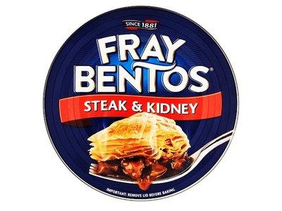 FRAY BENTOS STEAK & KIDNEY ( rognons) PIE 425 g