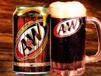 A&W ROOT BEER SODA 355 ml