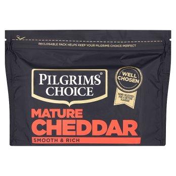 Pilgrims Choice (Choix de Pèlerins) Cheddar Mature ( blanc) 350g