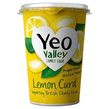 YEO VALLEY Biologique au lait entier  LEMON CURD 450G (ferme familliale)