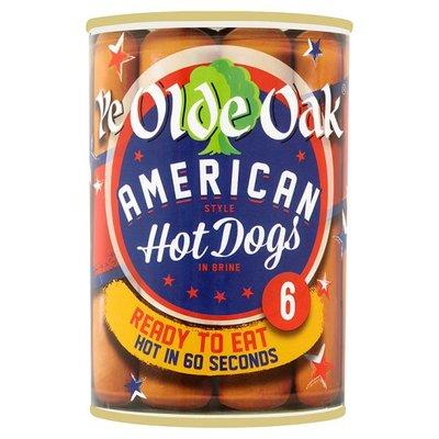 American Hot Dog vieux chêne