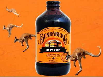 Bundaberg Root Beer, Stubby Bottle 375ML
