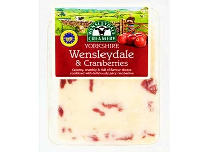 Laiterie Yorkshire Wensleydale & canneberges 180g