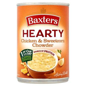 Baxters Hearty poulet & soupe de maïs doux 400g