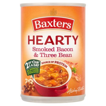 Baxters Hearty Bacon fumé& haricots 400g