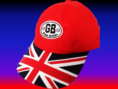 GB CASQUETTE BASEBALL BRODEE rouge réglable
