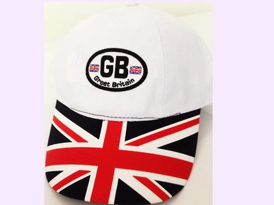 GB CASQUETTE BASEBALL BRODEE AJUSTABLE BLANCHE