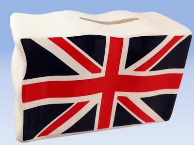 DRAPEAU UNION JACK TIRELIRE