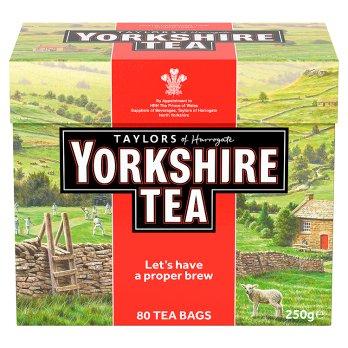 Yorkshire tea  80 sachets de thé 250g