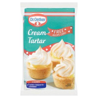Dr oetker crème de tartre 6 x 5 g