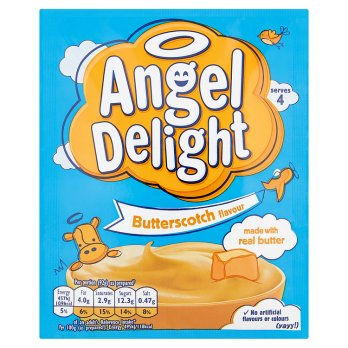 Angel Delight Butterscotch (saveur caramel au beurre) 59g