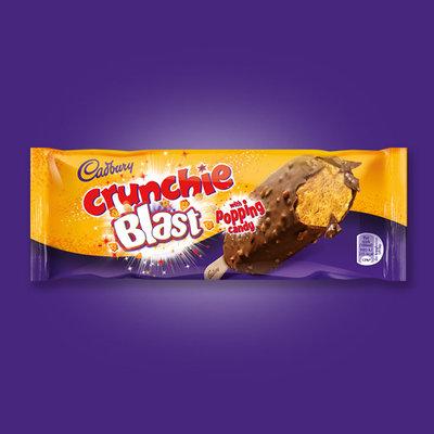 Cadbury Crunchie Blast aux pépites de bonbons explosifs 100ml