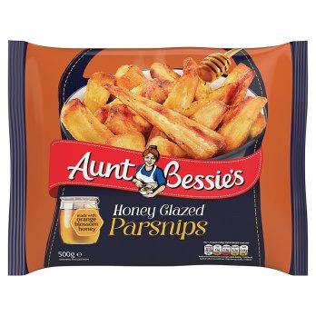Aunt Bessie's Honey Glazed Parsnips 500g (panais glacés au miel)
