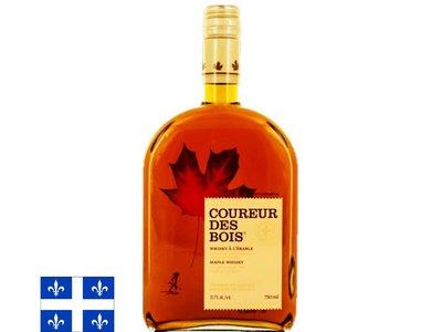 Coureur des Bois Whisky à l'érable - 31,7% 750 ml