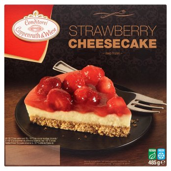 COPPENWRATH & WIESE CHEESECAKE STRAWBERRY 485g