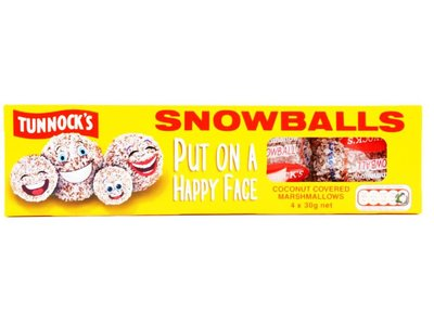 TUNNOCKS MARSHMALLOW SNOWBALLS