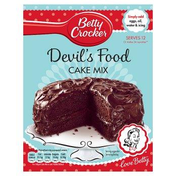 BETTY CROCKER DEVILS FOOD CAKE MIX 425 g