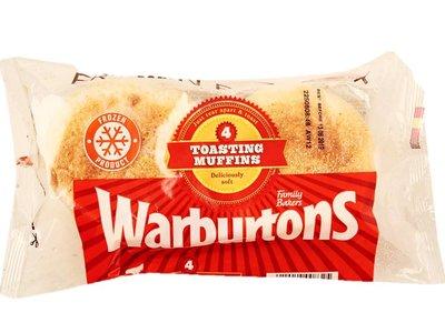 WARBURTONS MUFFINS 4pk