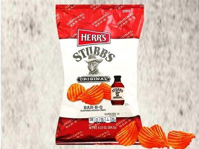 Herr's Stubb's Bar-B-Q Potato Chips