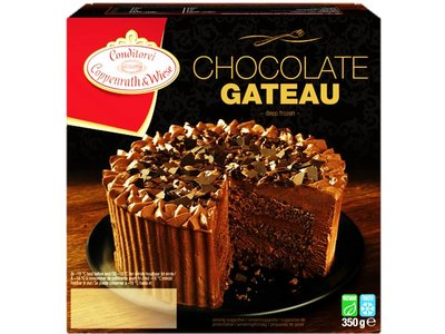 COPPENWRATH & WIESE CHOCOLATE GATEAU 350 g