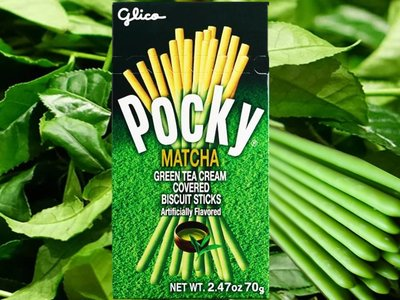Pocky Matcha Green Tea Flavour 42g