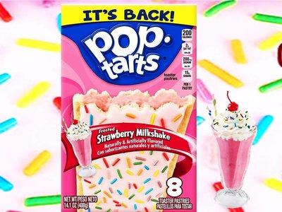 Pop Tarts Frosted Strawberry Milkshake