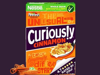 NESTLE CURIOUSLY CINNAMON 375 g