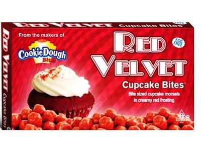 COOKIE DOUGH BITES - CUPCAKE RED VELVET