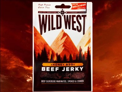 Wild west honey BBQ beef jerky