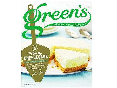 Green's cheesecake mix original 259 g