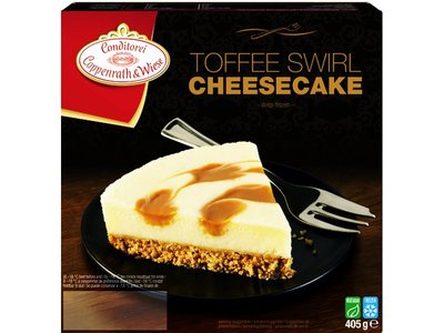 COPPENWRATH & WIESE TOFFEE SWIRL CHEESECAKE 405 g