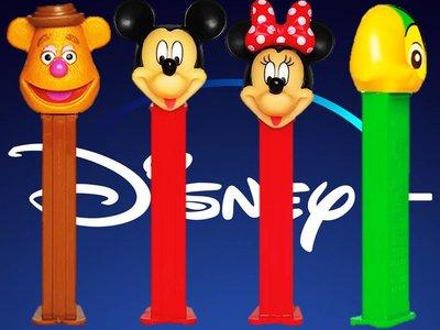 PEZ Disney Junior Candy & Dispenser