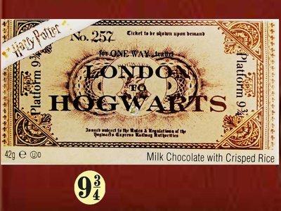 Harry Potter - Hogwarts Express Platform 9 3/4 Milk Chocolate Bar (42 g)