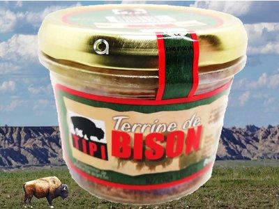Terrine de bison 180 gr