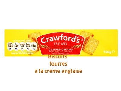 CRAWFORD CUSTARD CREAMS 150g